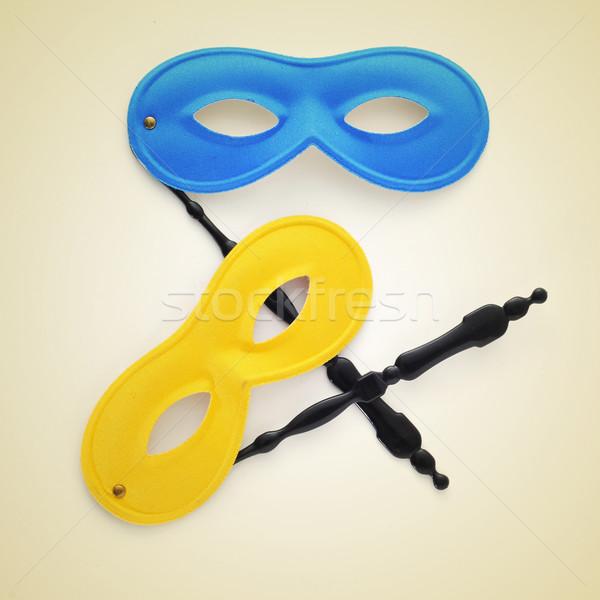 carnival masks Stock photo © nito