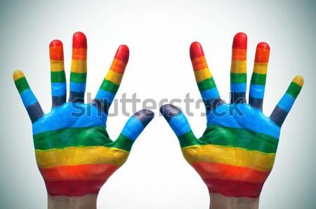 gay pride Stock photo © nito