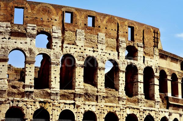 ローマ イタリア 詳細 建物 市 旅行 ストックフォト © nito