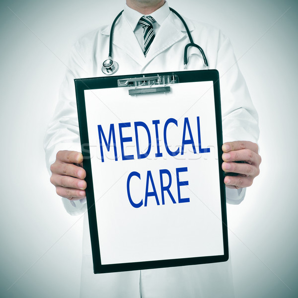 medical care Stock photo © nito