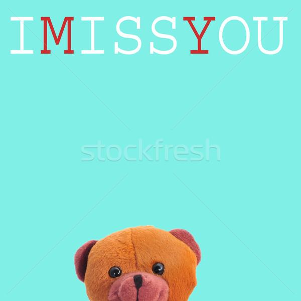 I miss you Stock photo © nito