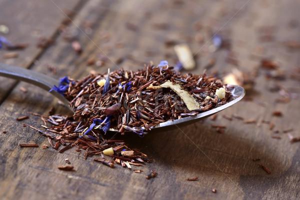 Zdjęcia stock: Herbaty · mieszany · kwiaty · wyschnięcia · owoce · zioła