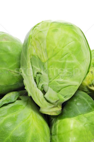 Bruselas supermercado hortalizas comer blanco Foto stock © nito