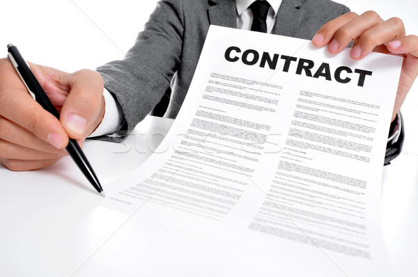 contract Stock photo © nito