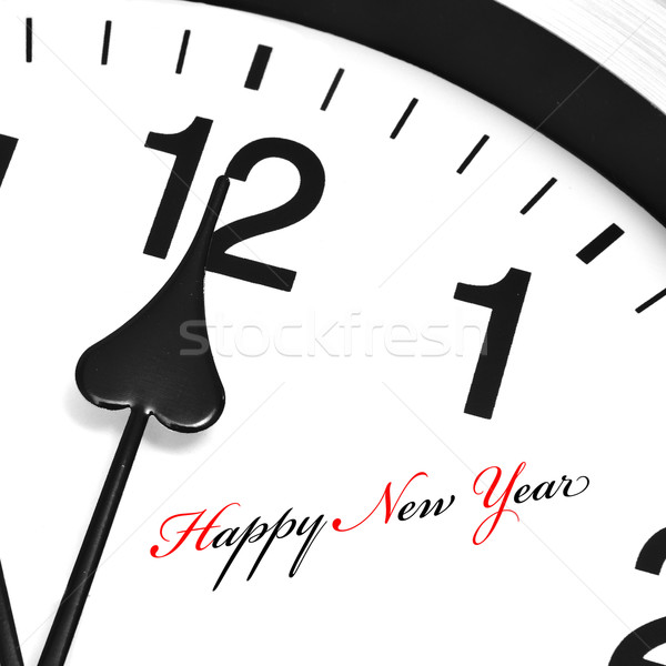 Stock photo: happy new year