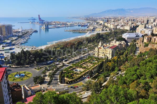 малага Испания порта город Сток-фото © nito
