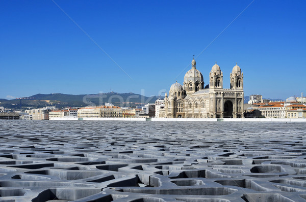 Cathedral of Saint Mary Major in Marseille, France Stock photo © nito