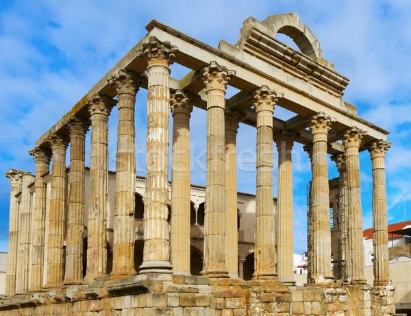 roman Temple of Diana in Merida, Spain Stock photo © nito