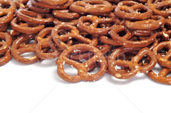 Perecek köteg fehér étel kenyér kövér Stock fotó © nito