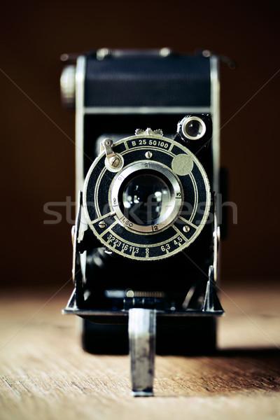 old folding camera Stock photo © nito