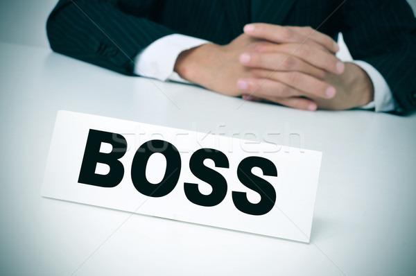 boss Stock photo © nito