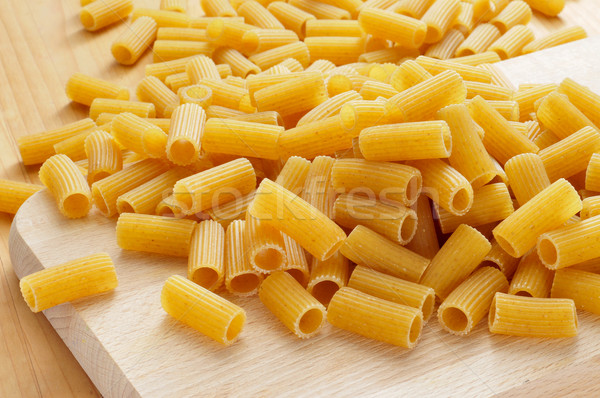 uncooked penne pasta Stock photo © nito