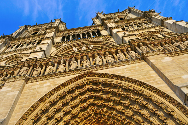 Notre-Dame Cathedral in Paris, France Stock photo © nito