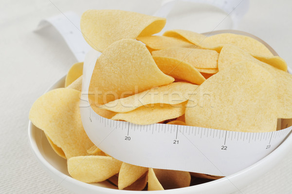 low fat potato chips Stock photo © nito