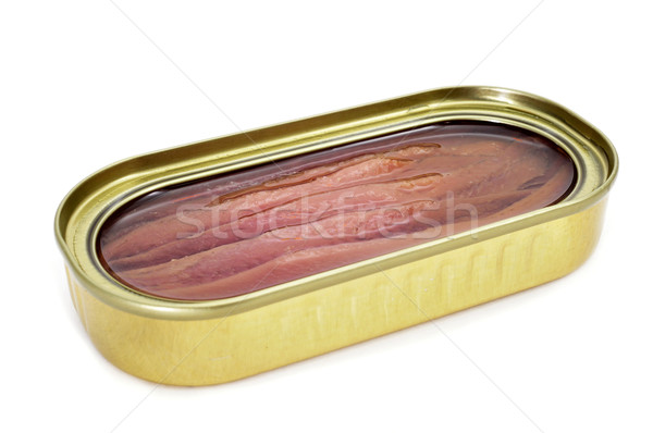 canned anchovies Stock photo © nito
