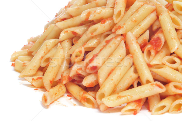 penne with tomato sauce Stock photo © nito