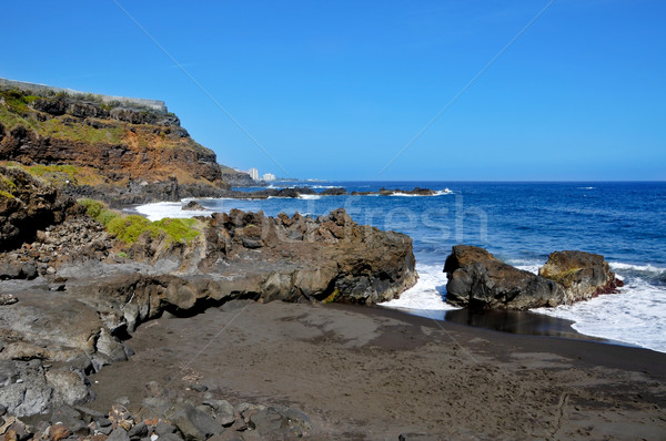 Bollullo Beach in Tenerife, Canary Islands, Spain Stock photo © nito