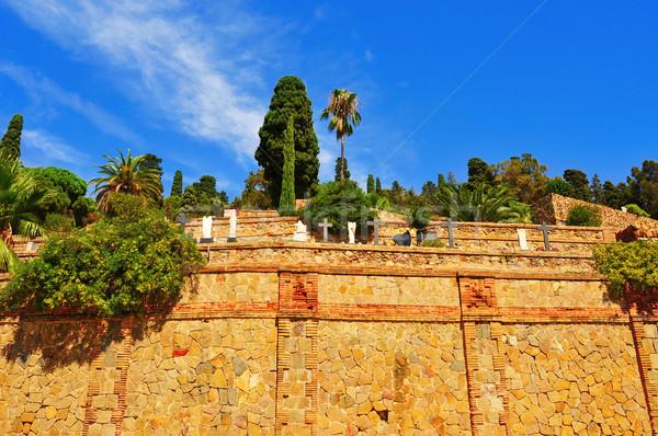Montjuic Cemetery in Barcelona, Spain Stock photo © nito