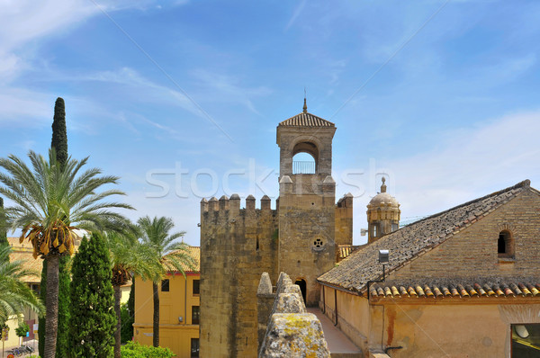 Alcazar de los Reyes Cristianos in Cordoba, Spain Stock photo © nito