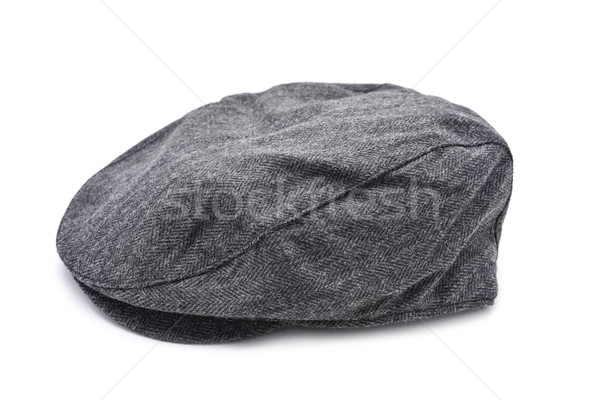 gray flat cap Stock photo © nito