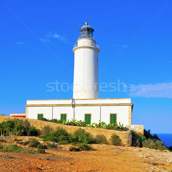 Far de la Mola in Formentera, Balearic Islands, Spain Stock photo © nito