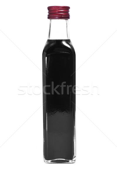 Balsamik sirke şişe beyaz gıda şarap tıbbi Stok fotoğraf © nito