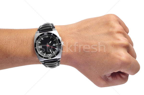 man black watch Stock photo © nito