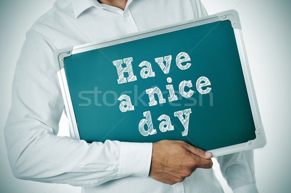 have a nice day Stock photo © nito