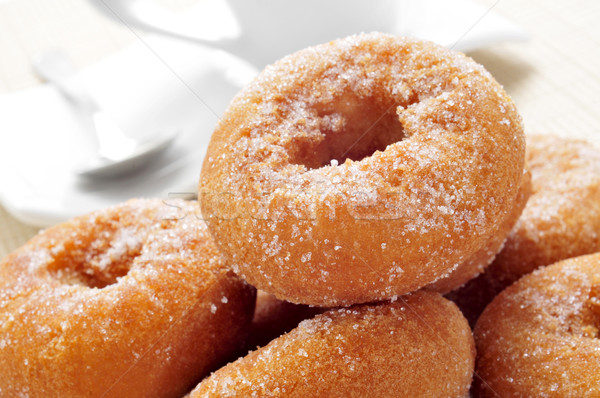 rosquillas, typical spanish donuts Stock photo © nito