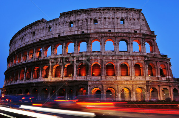 Flavian Amphitheatre or Coliseum in Rome, Italy Stock photo © nito