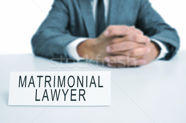 matrimonial lawyer Stock photo © nito