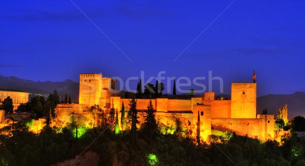 La Alhambra in Granada, Spain Stock photo © nito