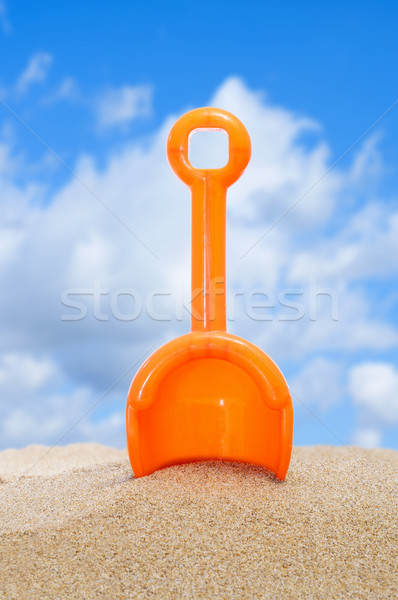 beach shovel Stock photo © nito