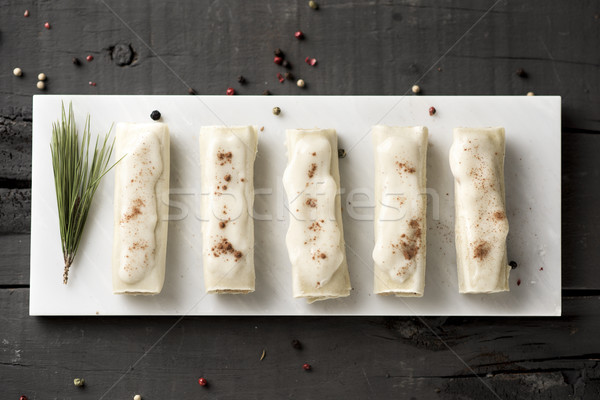 meat stuffed cannelloni Stock photo © nito