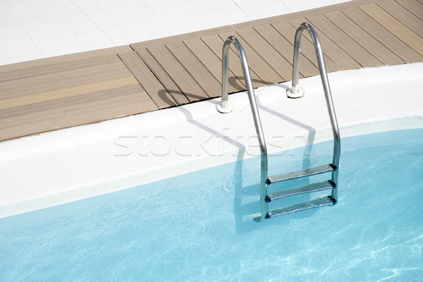 lonely swimming pool Stock photo © nito