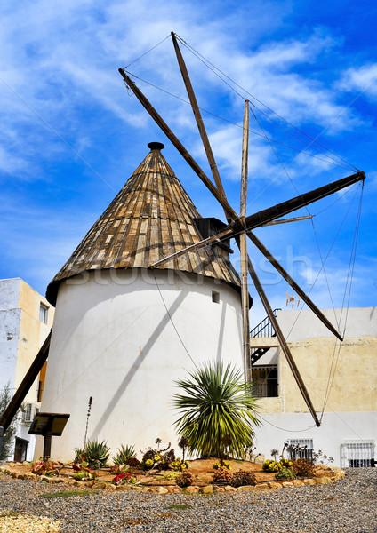 Сток-фото: старые · Windmill · Испания · мнение · путешествия · архитектура