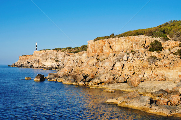 northeastern coast of Ibiza Island, Spain Stock photo © nito