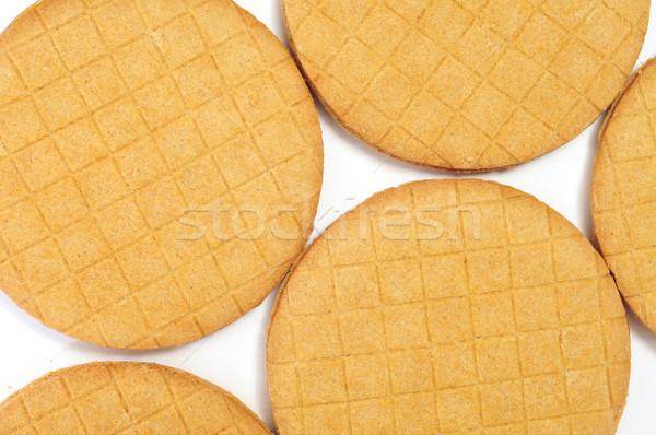 Stock photo: stroopkoeken, dutch caramel biscuits