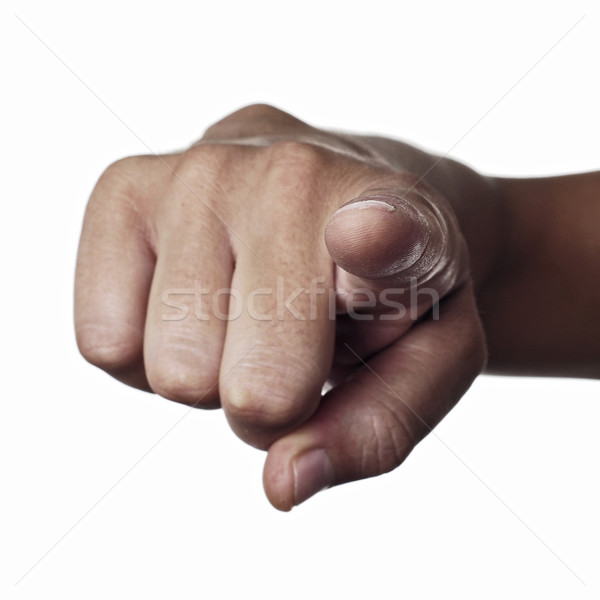 index finger pointing  Stock photo © nito