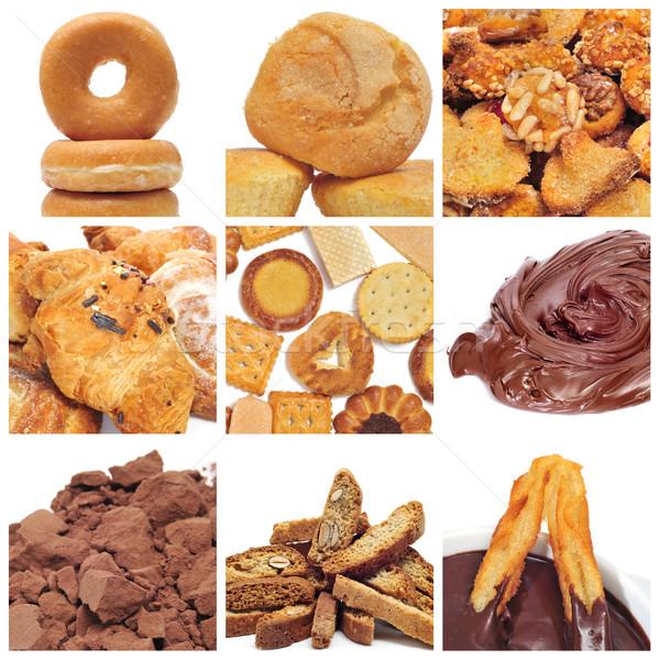 pastries collage Stock photo © nito