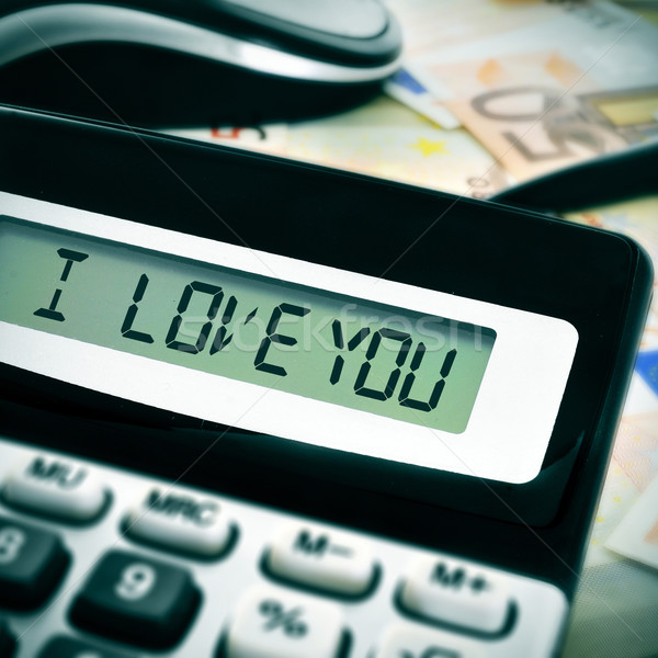 I love you Stock photo © nito