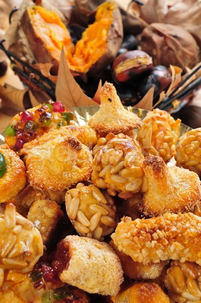 типичный Sweet пластина картофель Сток-фото © nito