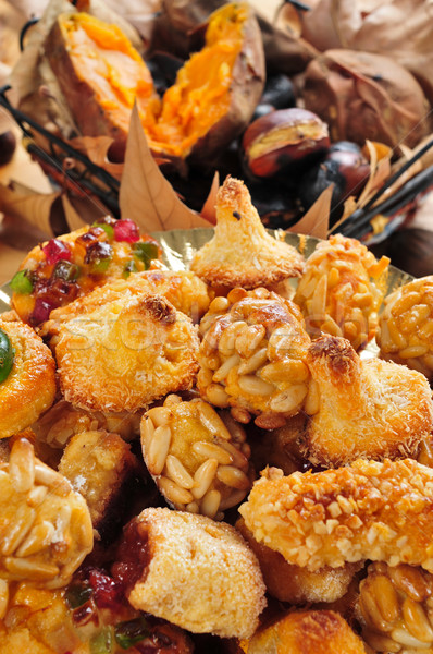 Tipic dulce placă Imagine de stoc © nito