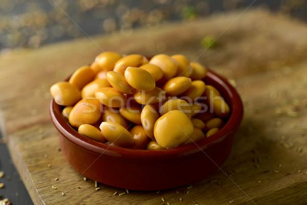 altramuces, lupinus albus beans eaten in Spain Stock photo © nito