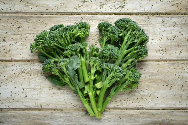 broccolini forming a heart Stock photo © nito