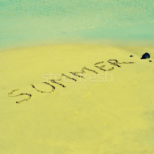summer Stock photo © nito