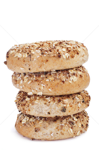 seed brown bagels Stock photo © nito