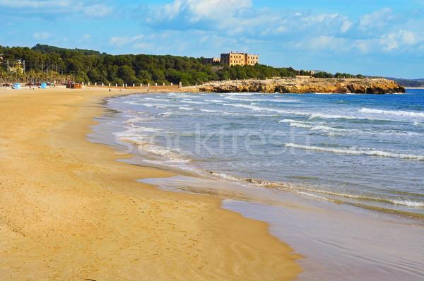 Arrabassada Beach in Tarragona, Spain Stock photo © nito