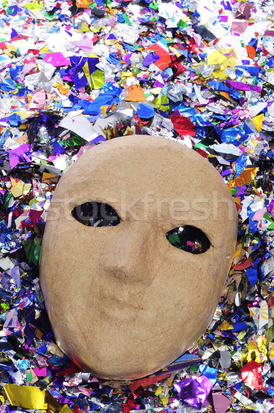 paper-mache mask Stock photo © nito