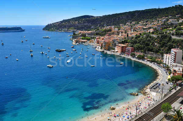 Villefranche-sur-Mer in the French Riviera, France Stock photo © nito